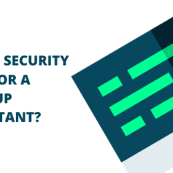Why is security even for a startup important?