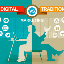 traditional and digital marketing